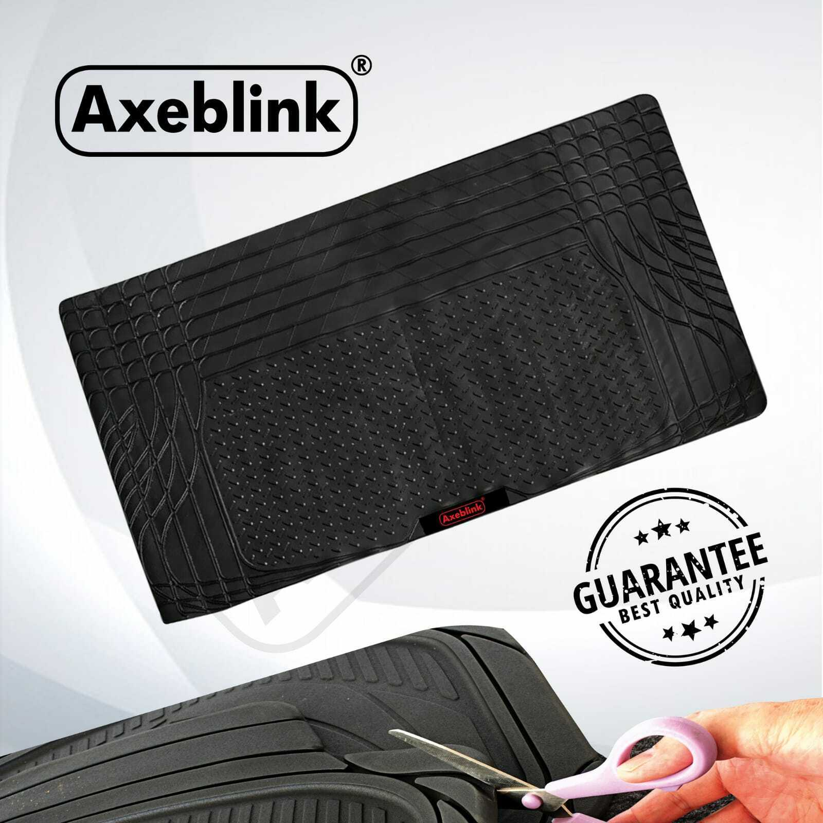 Car Parts - Universal Car Boot Mat Heavy Duty Rubber Liner Protector Non Slip Large New