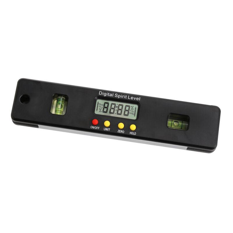"""Magnetic Spirit Level Tool 6"""" Digital Carpenter Beam Measuring Metric Rulers NEW"""