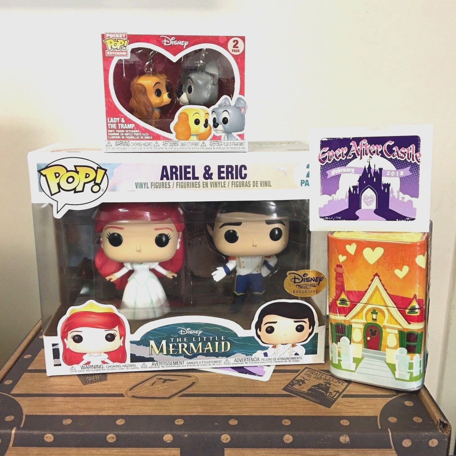 Funko POP Disney Treasures Box Princess Ariel & Eric Ever Af
