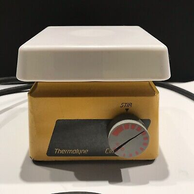 Barnstead Thermolyne Cimarec 1 Magnetic Stirrer With Magnets. Works