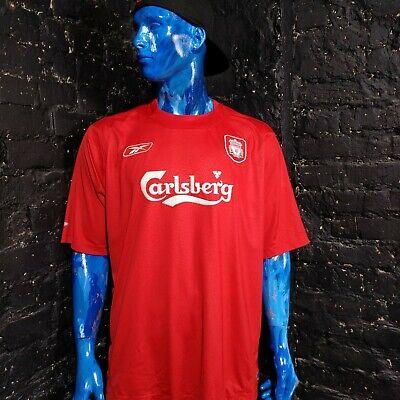 Liverpool Jersey Home football shirt 2004 - 2006 Reebok The Reds Mens Size 3XL  image