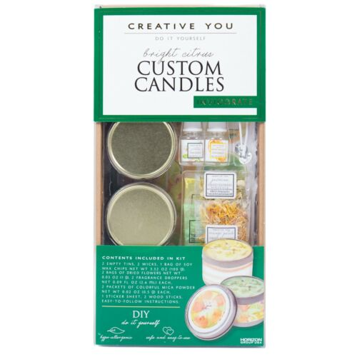 Candles Kit Do It Yourself Customize With Wick Tool