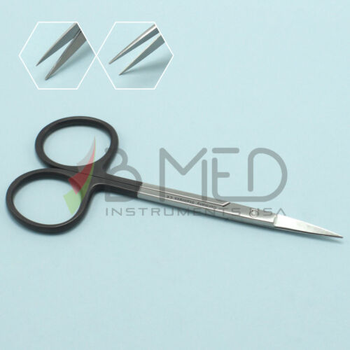 "OR Grade Iris Scissors Super-Cut Serrated 4.5"" Straight Surgical Instruments"