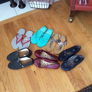 Variety of shoes mostly never worn all size 8