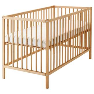 IKEA Baby Cot AND Mattress (Valued at $129 each)