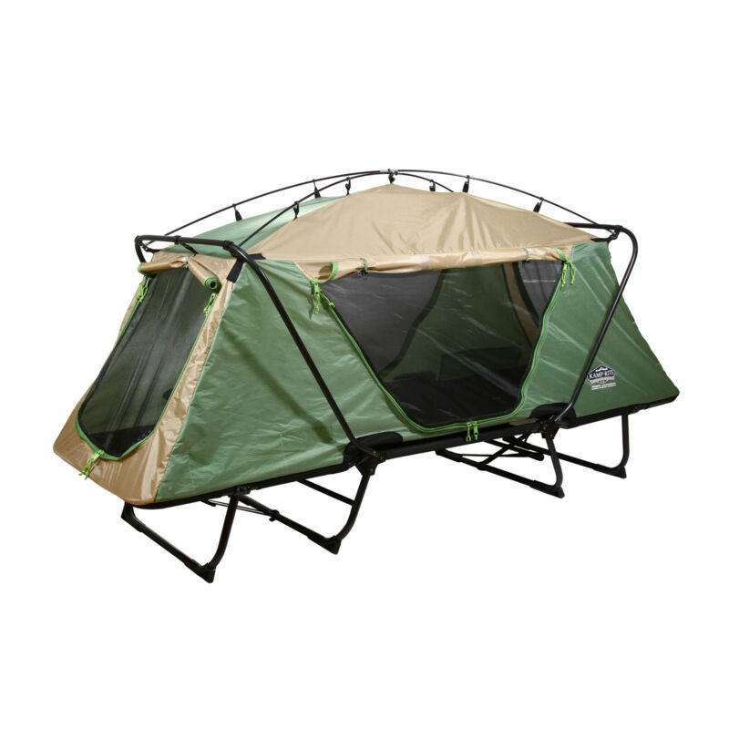 Kamp-Rite Oversize Tent Cot Folding Outdoor Camping Hiking Sleeping Bed (Used)