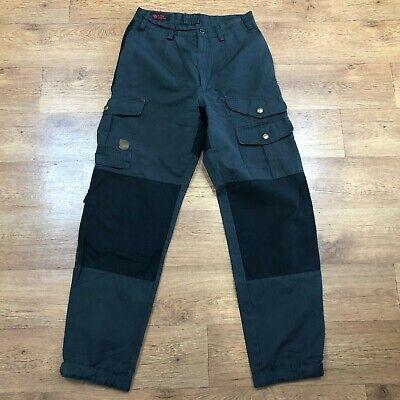 Fjallraven Walking Trousers G1000 Keb Grey Black W38 L33