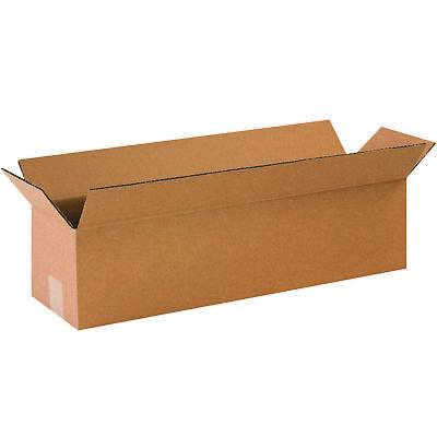50 - 12 X 3 X 3 Cardboard Shipping Boxes Long Corrugated Cartons