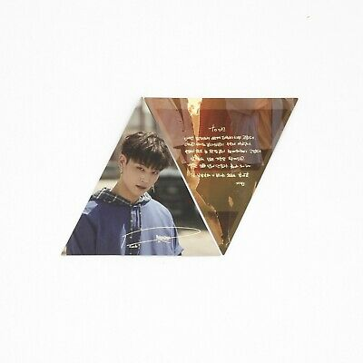 [GOT7] 1st 7 for 7 / You Are / Official Photocard / Triangle ver. - JB