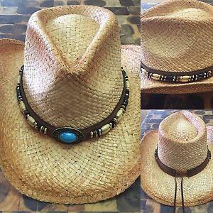 100% straw cowboy hats Kyabram Campaspe Area Preview