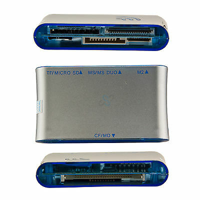 Multi All in One Card Reader Universal-Kartenlese-Gerät extern USB 2.0 (Externer Usb Multi Card Reader)