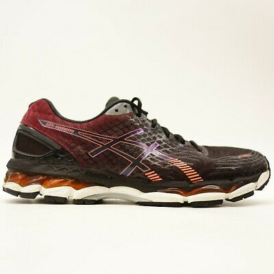 Asics Gel-Nimbus 17 T507N US 12 EU 46.5 Fire Athletic Road Running Mens -