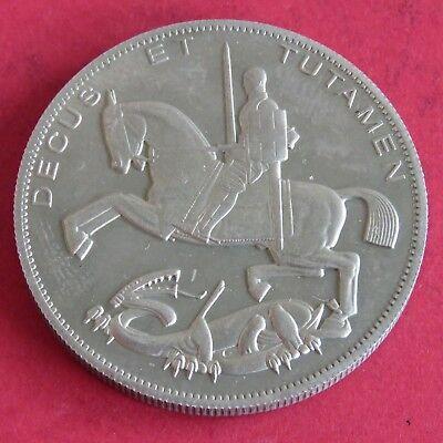 EDWARD VIII 1937 NICKEL SILVER PROOF PATTERN ROCKING HORSE CROWN ME - mintage 18