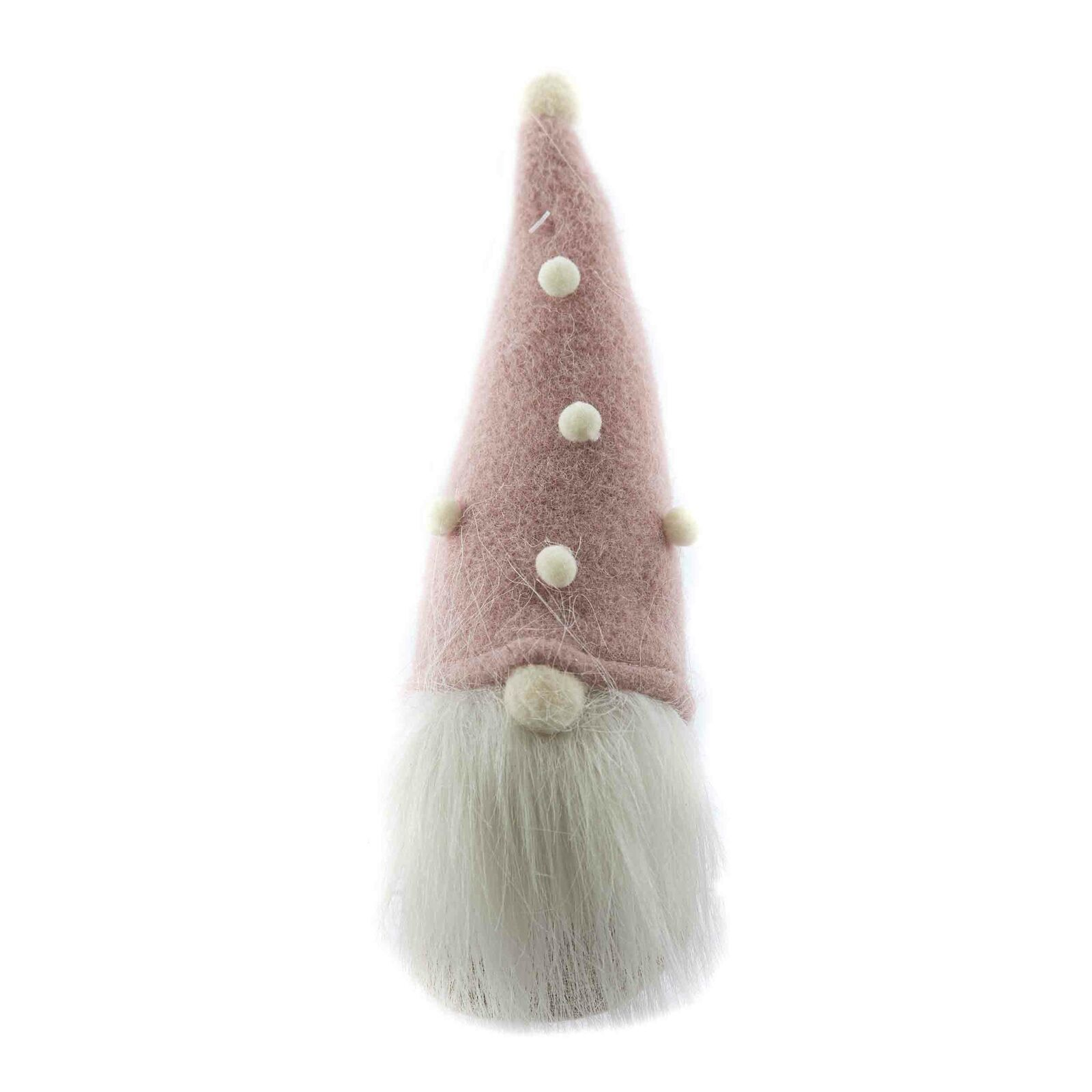 Weihnachts-Wichtel mit Fellbart ca 23 cm