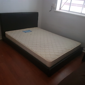 DOUBLE BED BASE 2 MATTRESSES FREE. Blair Athol Port Adelaide Area Preview