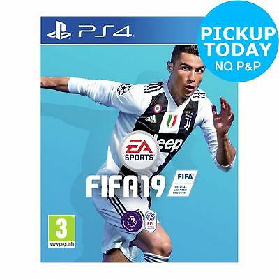 FIFA 19 Sony Playstation PS4 Game 3+ Years