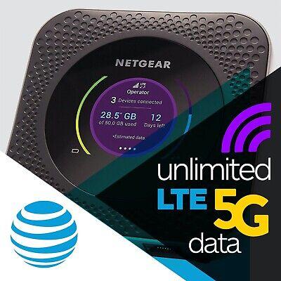 AT&T 5G Evolution Netgear Nighthawk MR5000 + Enterprise Unlimited Data
