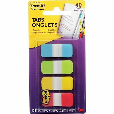 Post-it Tabs Self-stick 58 40pk Assorted Bright 676alyr