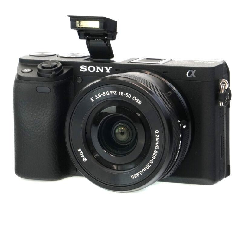 Sony Alpha a6400 24.2MP Mirrorless Digital Camera with E PZ 16-50 Lens