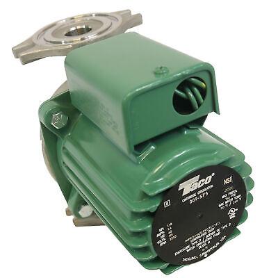 Hot Water Circulator Pump Ss 18 Hp Ifc Taco 009-sf5-ifc
