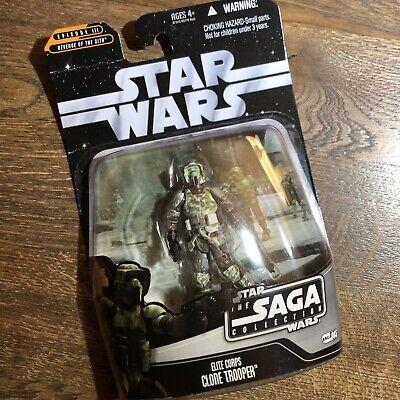 Star Wars 2006 Saga Collection Elite Corps Clone Trooper. MOC