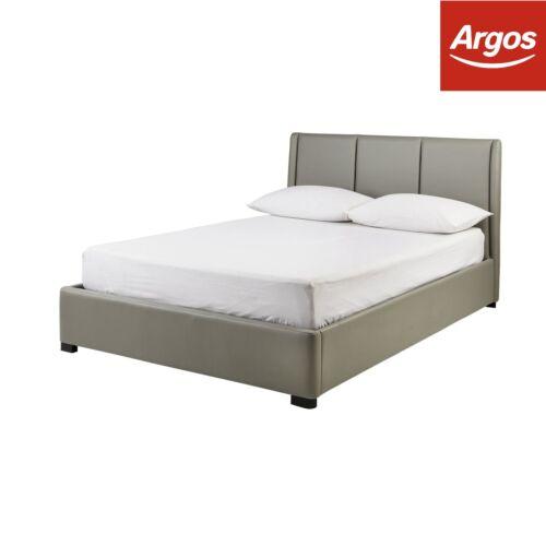Black Beds & Mattresses Furniture Professional Sale Hygena Austen Double Ottoman Bed Frame