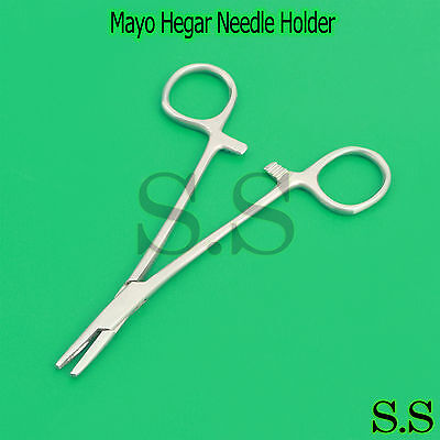 Suture Needle Holder Driver 5 Stainless Steel Surgical Dental Instruments