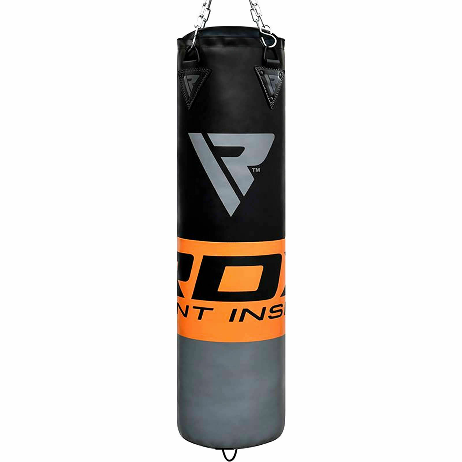 Punch Bag Heavy Filled Boxing Trainer Full 5ft Boxed Set MMA Muay Thai Martial