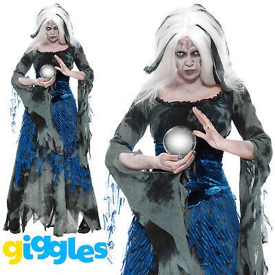 Costume Womens Ladies Halloween Medieval Fancy Dress Outfit (Halloween-kostüme Assassin)
