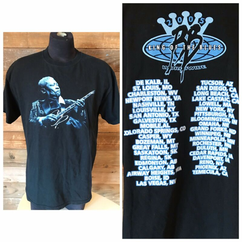 BB King 2005 King of The Blues World Tour Men