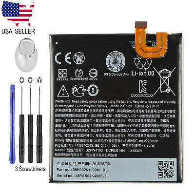 "New Genuine OEM Battery 2770mAh For HTC Google Pixel 1 5.0"" Nexus M1 B2PW4100"