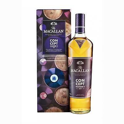 The Macallan Concept No.2 Single Malt Scotch Whisky 40 % 0,7 l