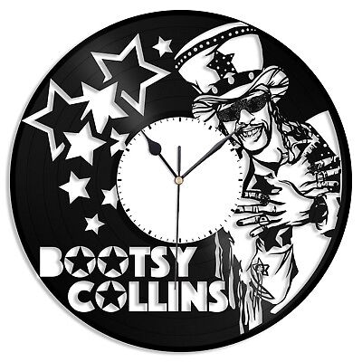 Bootsy Collins Vinyl Wall Clock Unique Music Fashioned Home Room Decoration
