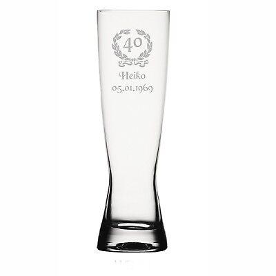 Grande Spiegelau Gläser mit Gravur WB23 Geschenkidee (23. Geburtstag Ideen)