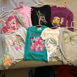 5/6 shirt lot 9 In total