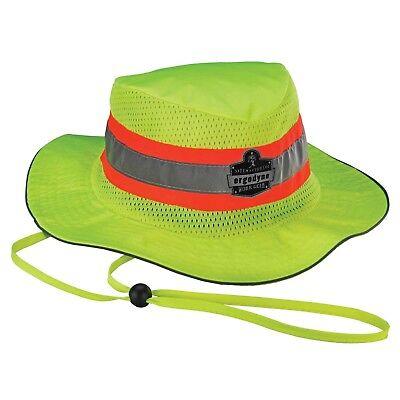 Chill-its 8935ct Evaporative Cooling Ranger Hat Hi Vis Lime