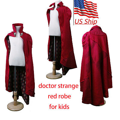 Cosplay Movie Doctor Strange Kids Cloak Robe Costume Cosply Dr. Steve Kid Cloak