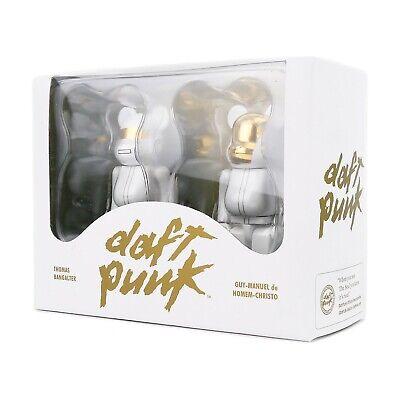 Used, Medicom Bearbrick 100% White Suits Daft Punk 2 Pack Be@rbrick Set - New Rare HTF for sale  Seattle
