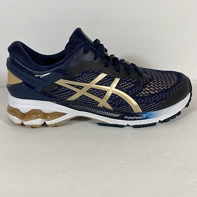 ASICS 1012A457  Womens Gel-Kayano 26 Midnight/Frosted Almond Size 8.5 Worn Once