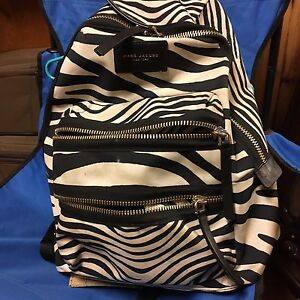 "Marc Jacobs ""Mini biker zebra"" backpack"
