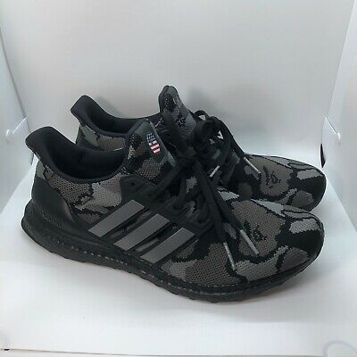 Adidas Ultra Boost 4.0 A Bathing Ape Bape Camo Black Size 10.5 w/ OG Box