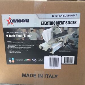 Deli Meat Slicer by Nella - BNIB - Made in Italy