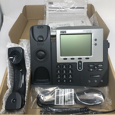 Cisco Ip Phone Cp-7941g Business Phone Office Telephone Installed But Never Used