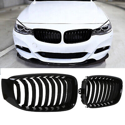 SPORT RADIATOR KIDNEY GRILL GRILLE PAIR FOR BMW 3 SERIES F34 318 320 325 330 GT