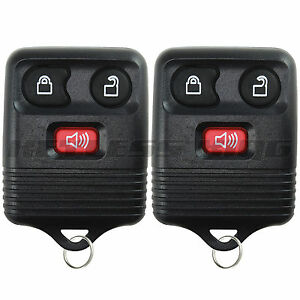2-New-Keyless-Entry-Remote-Control-Car-Key-Fob-Clicker-Transmitter-Replacement