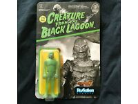 "Aurora Creature Black Lagoon Glow in the dark model  Metal Sign 12x12/"" 60768"
