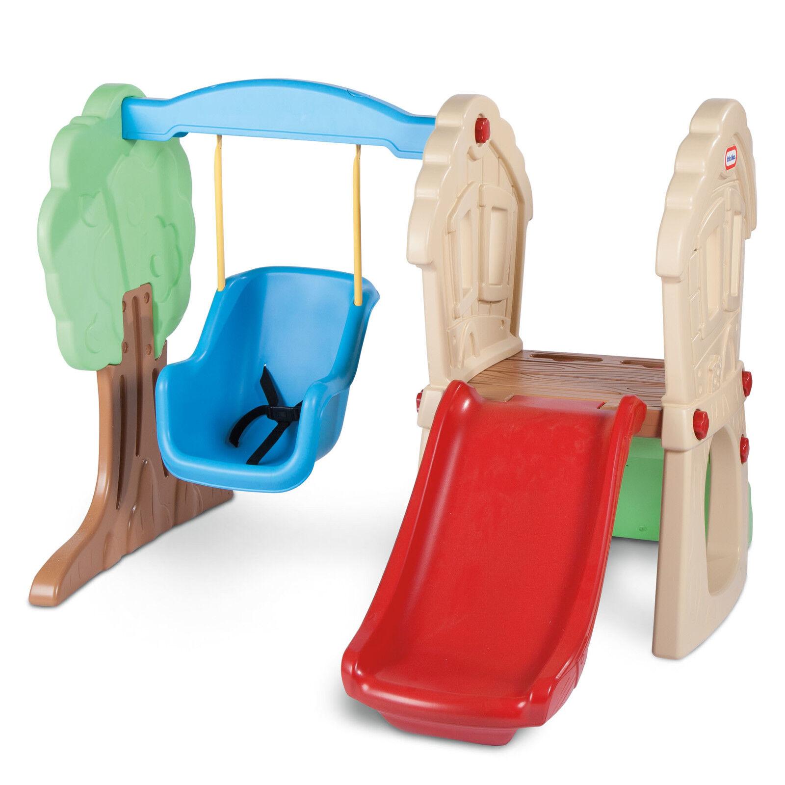 Playground  Swing Set Kids Slide Play Center Baby Toddler In