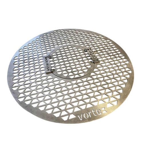 VORTEX (IN)DIRECT HEAT® GRILL GRATE FOR 22 KETTLE UDS KAMADO STYLE CHARCOAL BBQ