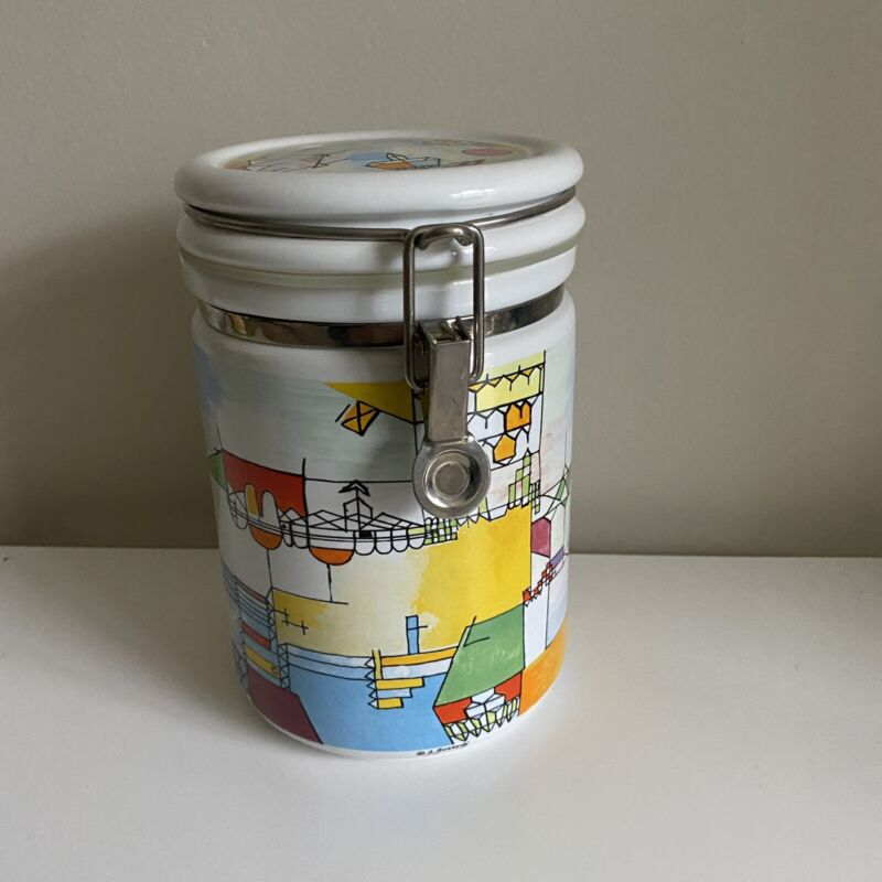 Chaleur Masters Of Abstract Collection Canister Piet Mondrian Diamond Painting
