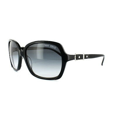 Jimmy Choo Sunglasses Lela 807 JJ Black Grey Gradient